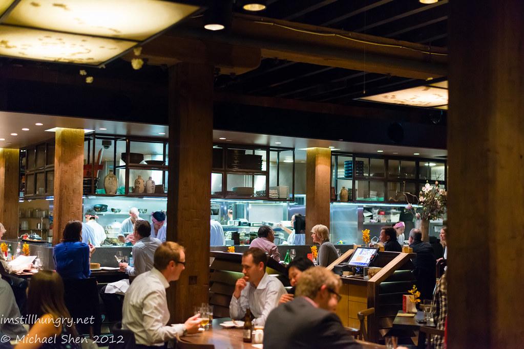 Sake Restaurant bar area