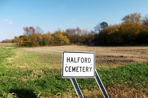 halford cemetery sign 148