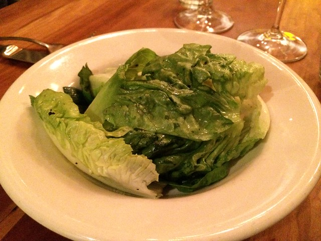 Little gem lettuce salad - Incanto