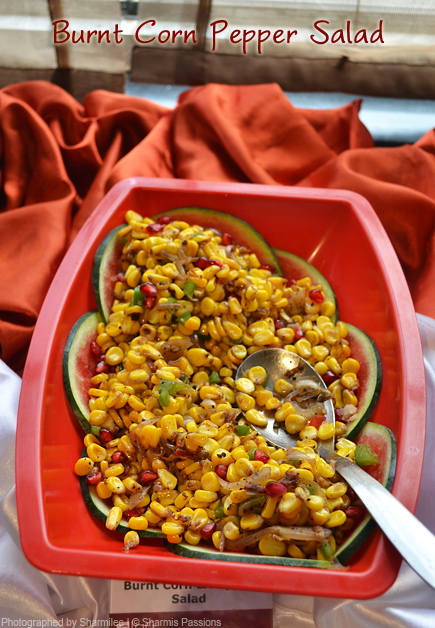 Burnt Corn Pepper Salad