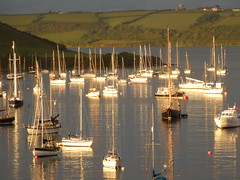Evening Light, River Fal, Falmouth, Cornwall