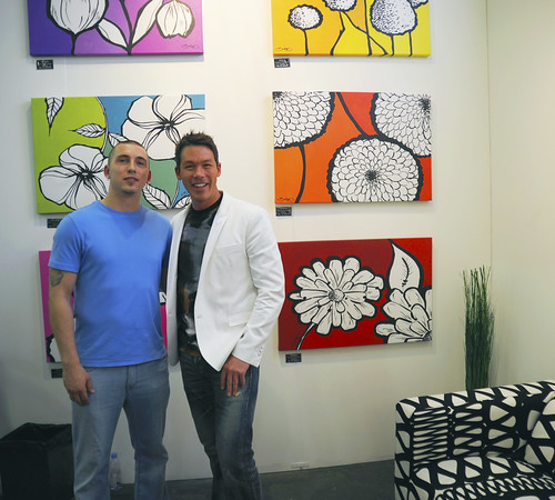 David Bromstad — Artexpo New York 2014