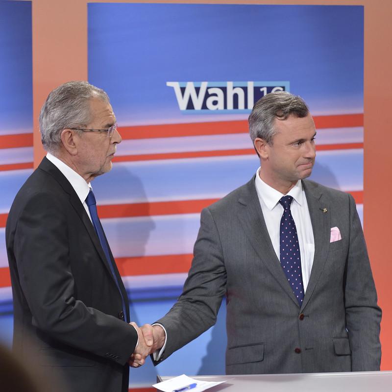 #BPW16 Der Wahlabend in der Wiener Hofburg