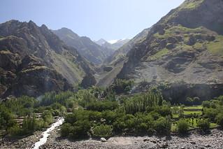 Across the Afghan border
