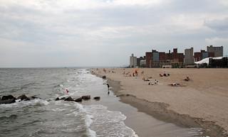 Image of Coney Island Beach near Coney Island. new york