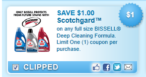Bissell Deep Cleaning Formula Coupon