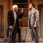 Dick Latessa and Brooks Ashmanskas in the Huntington Theatre Company's revival of <i>She Loves Me</i>  playing at the Boston University Theatre. Part of the 2007-2008 season. Photo: T. Charles Erickson.