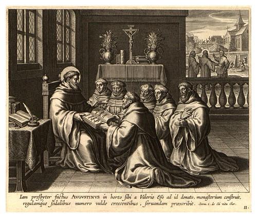 009-Iconographia magni patris Aurelli Augustini…1624-Grabados de Boetius Bolswert- Cortesia de Villanova University