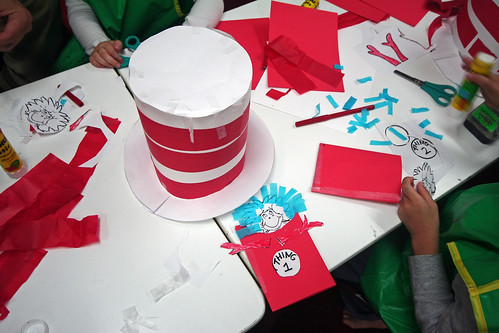 Cat in the hat-making!