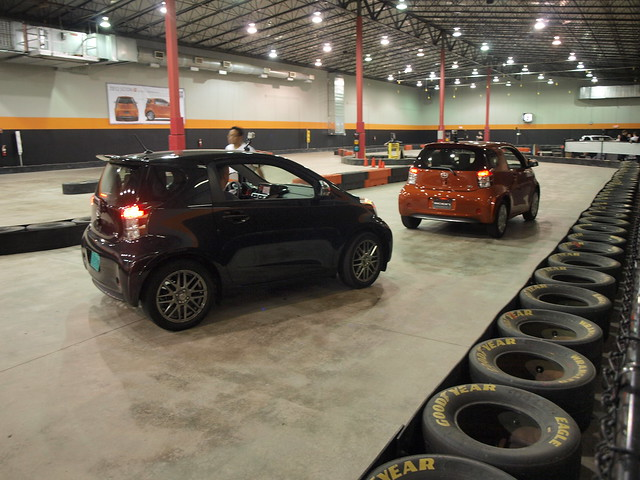 Scion iQs Gone Karting, Too!