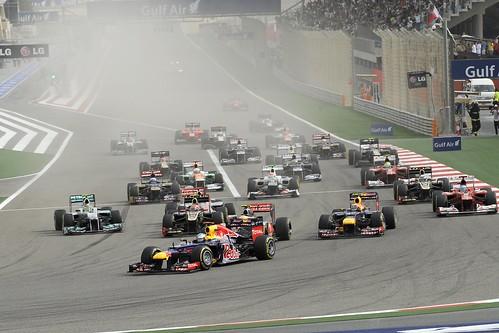 BAHRAIN F1 GRAND PRIX 2012