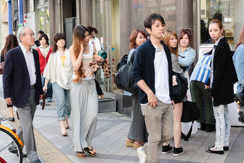 Sannomiyacho 1 Chome, Kobe-shi, Chuo-ku, Hyogo Prefecture, Japan, 0.005 sec (1/200), f/6.3, 50 mm, EF50mm f/1.4 USM