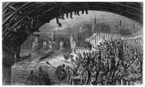 011-El puente Barnes-London A Pilgrimage 1890- Blanchard Jerrold y Gustave Doré- © Tufts Digital Library