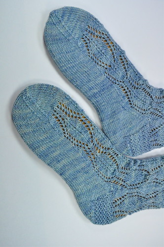 Medallion Lace Socks