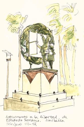 Monumento a la Libertad, Marbella