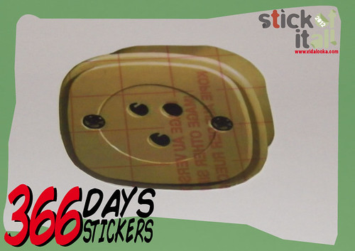 366 Days - 366 Stickers - Abril-April by Vidalooka - STICK OF IT ALL VOL.3 -
