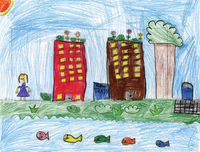 Green City, Clean Waters Art Contest: 2nd Place, Kindergarten to 2nd Grades