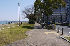 Bike Path Lake Biwa Japan