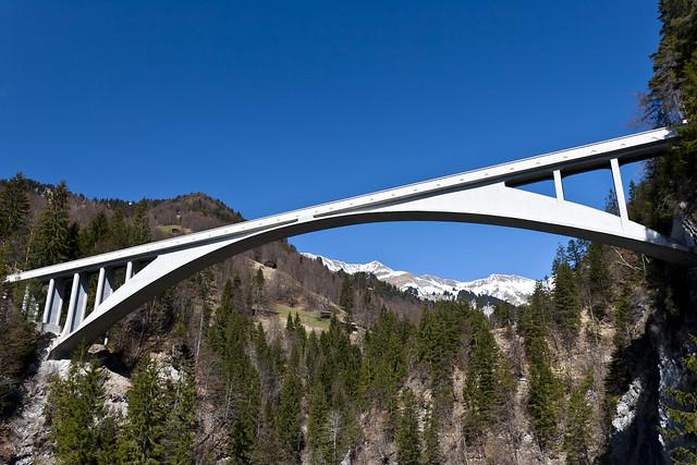 Salginatobel Bridge, Prättigau - Veloland