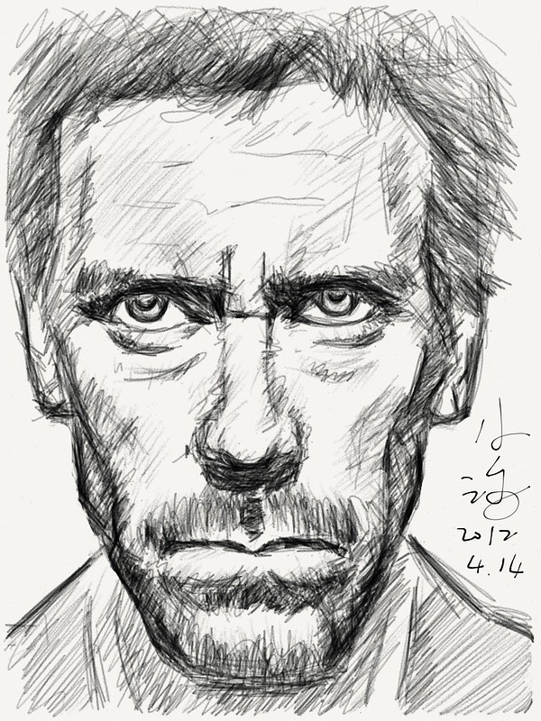 dr. house sketch