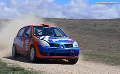 V Tramo cronometrado de tierra Loeches 2012 - J.L. Navarro/Iñaki Paez - Renault Clio Sport