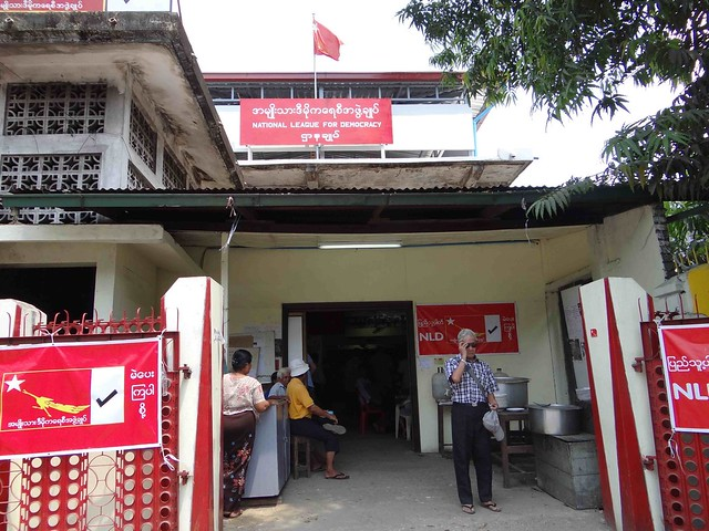 NLD Headquarters in Yangon