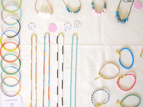 Playful jewellery pieces by Verity Keniger at The Market, April 28th 2012 | Emma Lamb