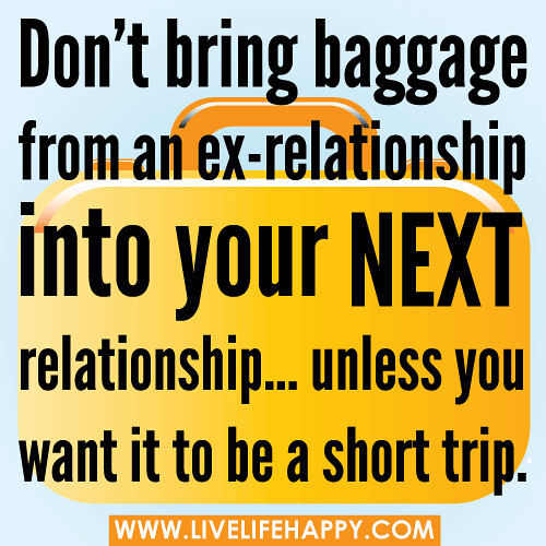 relationship baggage signs