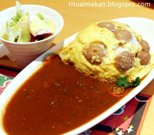 beef sausage omelette