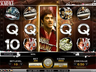 Scarface bonus game