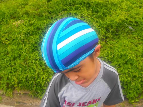 Gorra de piscina