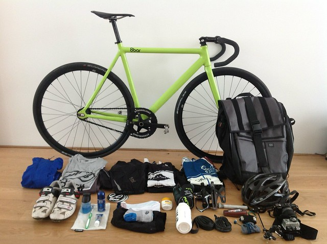 8bar cycles through Europe - Bike check