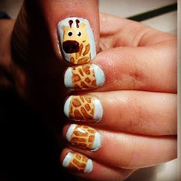 How cute is this! Picture seen on our Pinterest! #nails #n… | Flickr