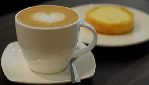 Latte & Lemon Tart