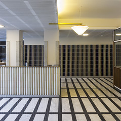 Aalto Pensions Building Entry View