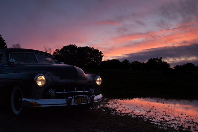 Midnight drive...