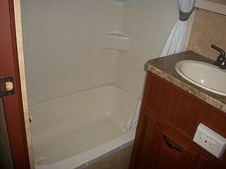 rv bathroom shower view 1