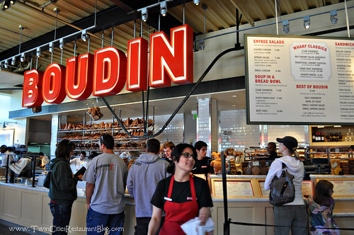 Counter Service at Boudin Sourdough Bakery ~ San Francisco, CA