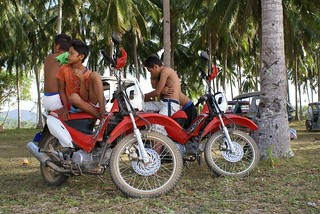 Locals who seat on our motorbikes
