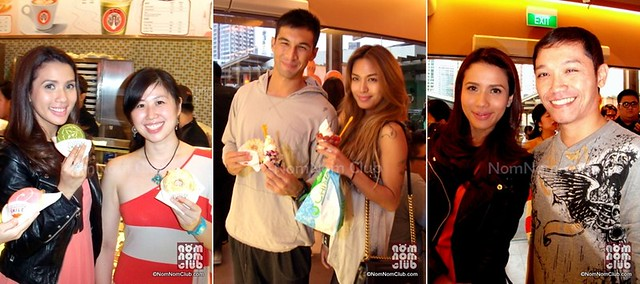 Celebrities Karylle and Anton Del Rosario of Azkals Dropped by J.CO