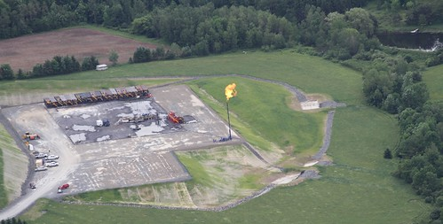 Frack Flare site 1