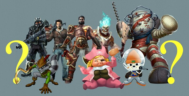 PlayStation All-Stars Battle Royale Pre-Order Costumes