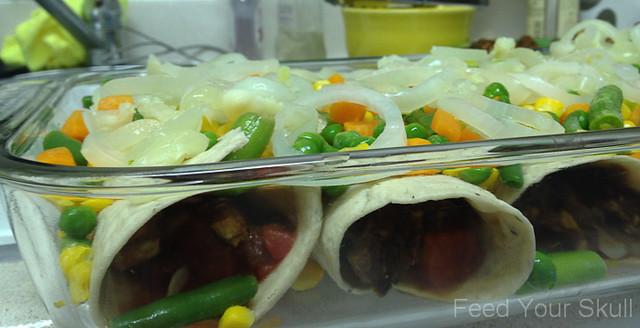 Tofu and Vegetable Mole Sauced Enchiladas | Explore Michelle ...