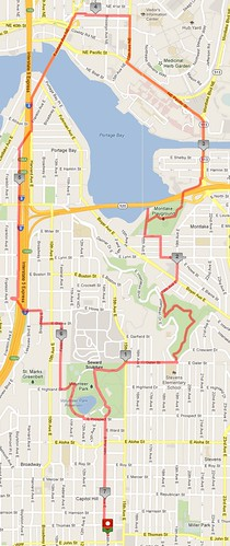 Today's awesome walk, 7.17 miles in 2:20 by christopher575
