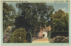 Home of Tyrone Power, Bel-Air, Calif.