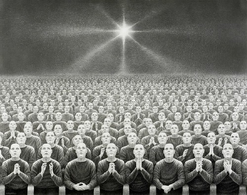 Laurie Lipton, Delusion Dwellers, 2007