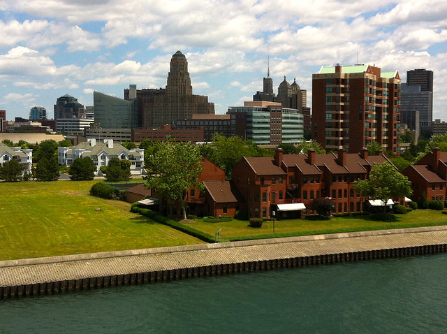 Buffalo NY Waterfront View by CC user andynash on Flickr