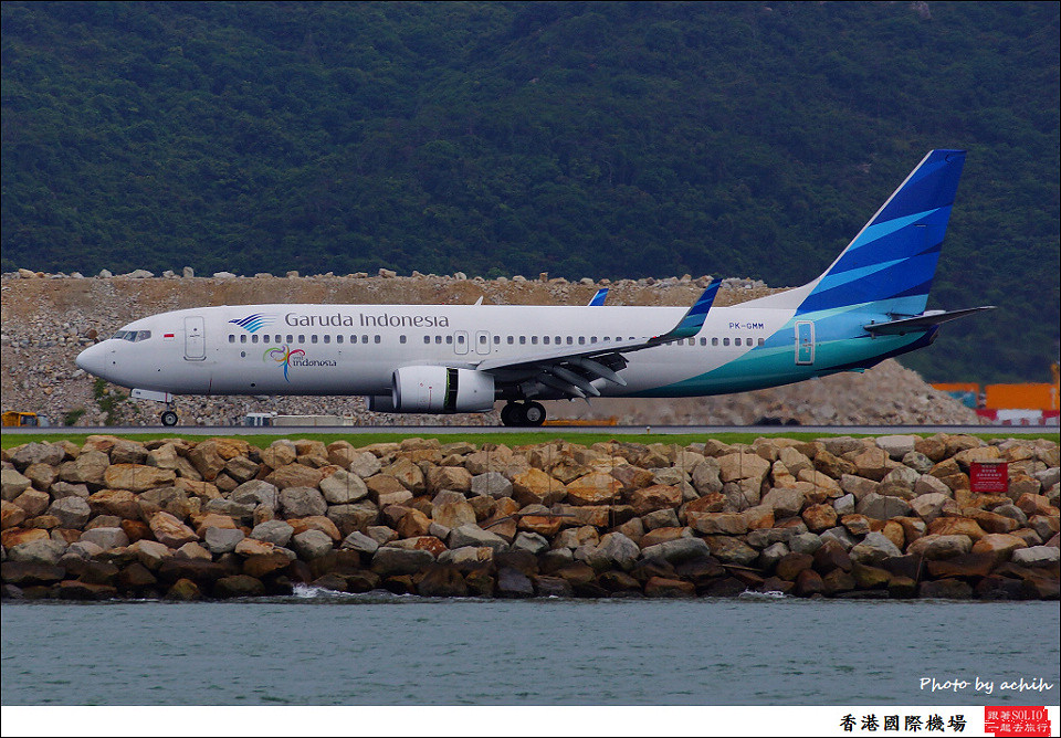 Garuda Indonesia / PK-GMM / Hong Kong International Airport