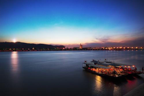 china longexposure light sunset night landscape dream haji hussam changsha cites colorphotoaward nooffcameraflash gettyimageschinaq1 hussamhajibakr