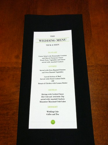 make your own menu cards